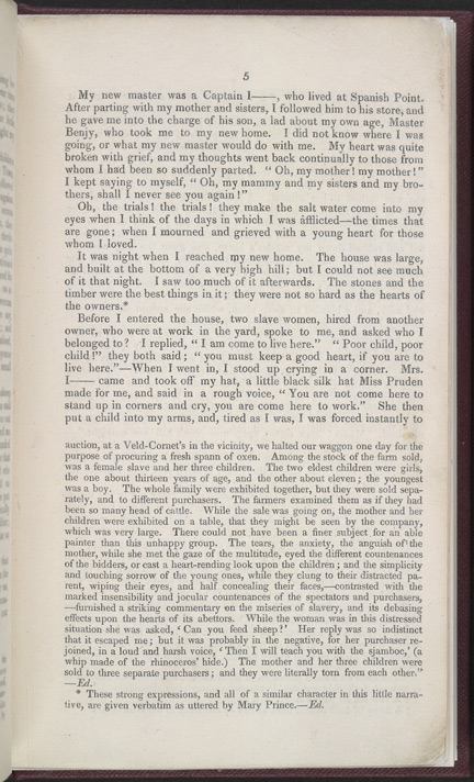 The History of Mary Prince, A West Indian Slave -Page 5